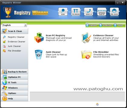 نرم افزار Registry Winner